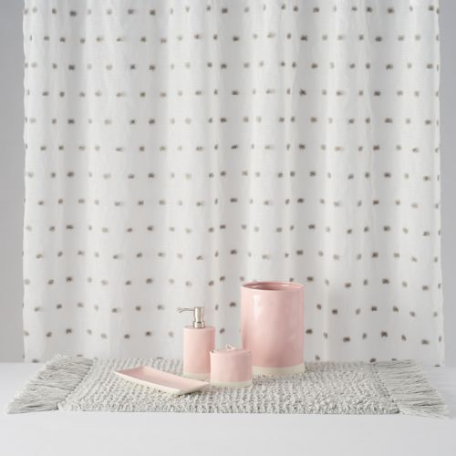 lauren conrad pom pom shower curtain collection