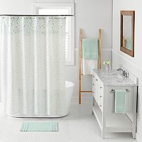 LC Lauren Conrad Confetti Shower Curtain Collection
