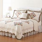 Home Classics Donna Floral Heirloom Quilt Coordinates