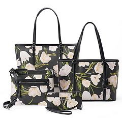 Dana Buchman Tulip Print Handbag Collection
