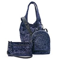 Mudd® Crushed Velvet Handbag Collection
