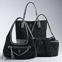 Simply Vera Vera Wang Velvet Handbag Collection