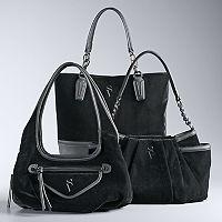 Simply Vera Vera Wang Velvet Handbag Collection
