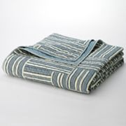 Chaps Home Montauk Studio Striped Quilt