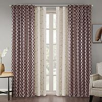 Madison Park Erika & Leanne Window Treatment Collection
