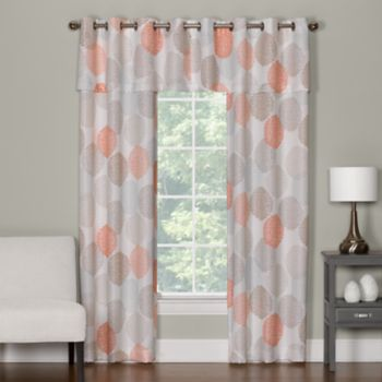 The Big One® Floral Decorative Window Curtain Collection