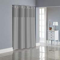 Hookless Herringbone Shower Curtain Collection