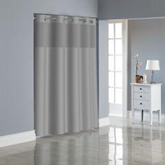 Hookless Herringbone Shower Curtain Collection