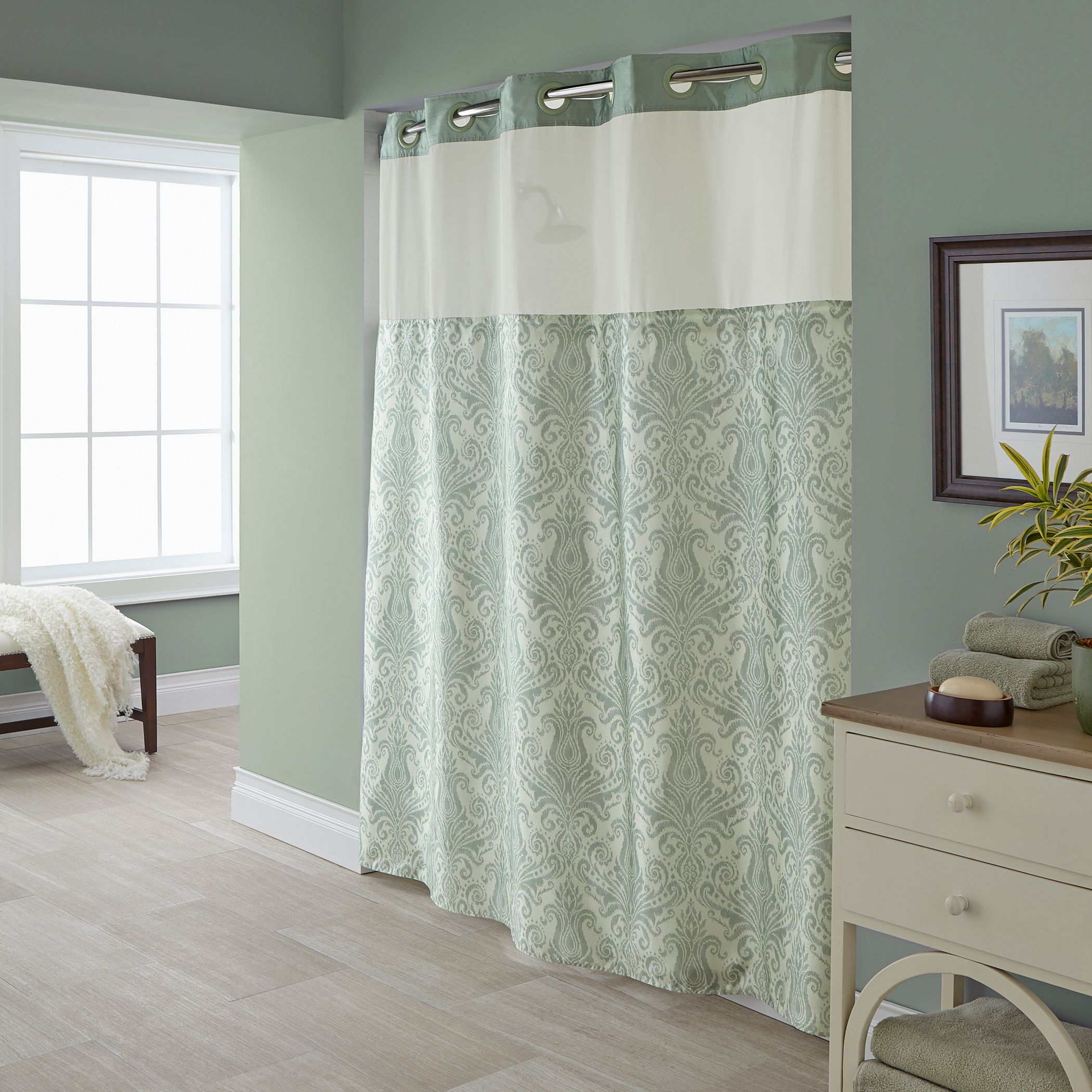 hookless vintage shower curtain collection