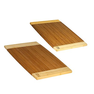 Chicago Cutlery Woodworks Bamboo Cutting Boards