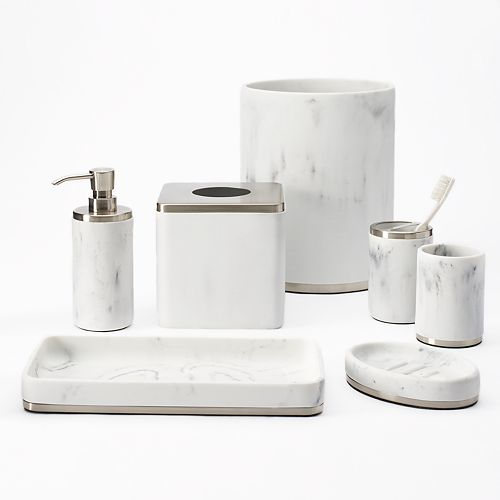 SONOMA Goods for Life™ Faux Marble Bath Accessories Collection