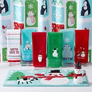 St. Nicholas Square® Holiday Cheer Snow Friends Shower Curtain Collection