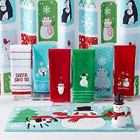 St. Nicholas Square® Snow Friends Shower Curtain Collection
