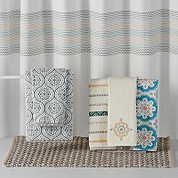 SONOMA™ Goods for Life Medallion Textured Shower Curtain Collection