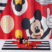 Disney's Mickey & Minnie Mouse Polka-Dot Shower Curtain Collection