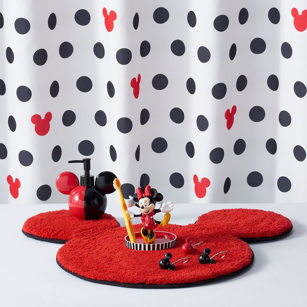 Disneys Mickey Minnie Mouse Shower Curtain Collection