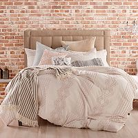 Peri Cut Geometric Comforter Collection