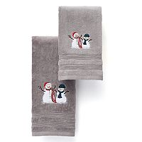 St. Nicholas Square® Snowmen Bath Towel Collection
