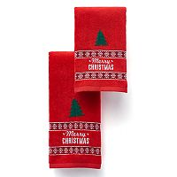 St. Nicholas Square® Merry Christmas Bath Towel Collection