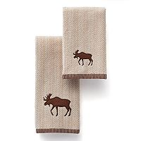St. Nicholas Square® Moose Bath Towel Collection