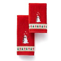 St. Nicholas Square® Comfy Cozy Snowman Bath Towel Collection