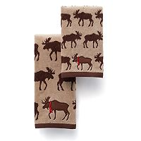 St. Nicholas Square® Repeat Moose Bath Towel Collection
