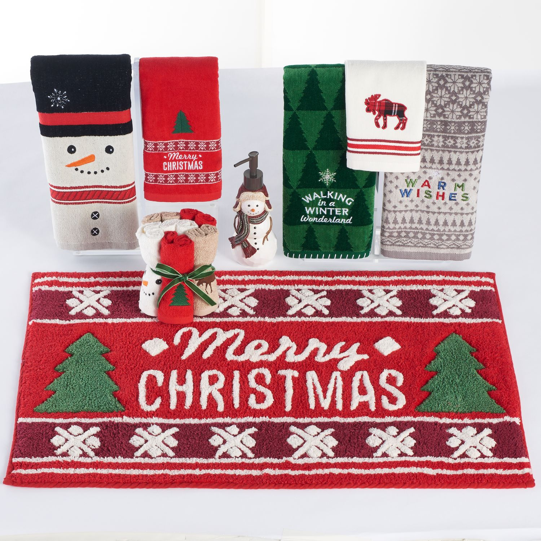 st nicholas square christmas bath accessories collection