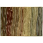 Shaw Living Origins Terra Striped Rug
