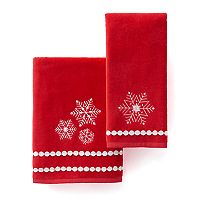 St. Nicholas Square® Snowflake Bath Towel Collection