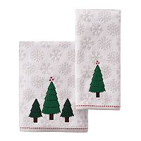 St. Nicholas Square® Felt Tree Bath Towel Collection