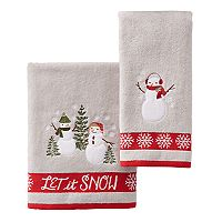 St. Nicholas Square® Snowman Bath Towel Collection