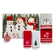 St. Nicholas Square® Christmas Traditions Snowflake Bath Accessories Collection