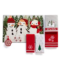St. Nicholas Square® Snowflake Bath Accessories Collection
