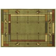 Shaw Living Timber Creek Mission Leaf Rug