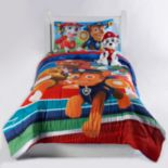 Paw Patrol Chase, Zuma & Marshall Comforter Collection