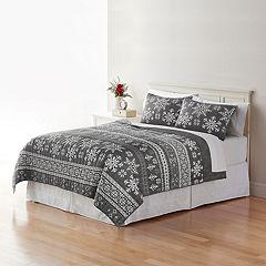 Home Classics® Sarah Fairisle Quilt Collection