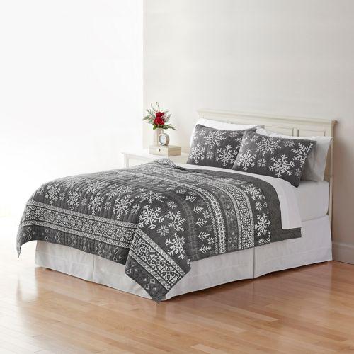 Classics® Sarah Fairisle Quilt Collection