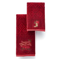 St. Nicholas Square® Season's Greetings Bath Towel Collection