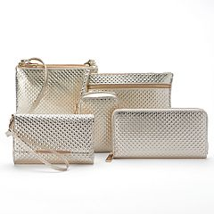 Apt. 9® Tech Gold Tone Pyramid Handbag Collection