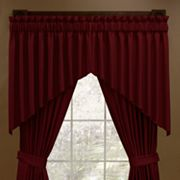 Aurora Antique Satin Shaped Window Treatments