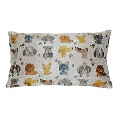Spencer Home Decor First in Show Jacquard Throw Pillow Collection