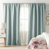 LC Lauren Conrad Bloomfield Layered Window Treatments