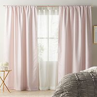 LC Lauren Conrad Twilight Layered Window Treatments
