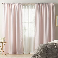 LC Lauren Conrad Twilight Layered Window Curtain Collection