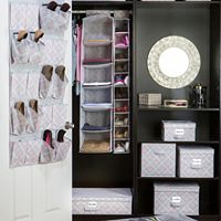 The Macbeth Collection Closet Candie Ikat Organizer Collection