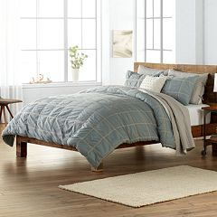 SONOMA Goods for Life™ Roland Woven Plaid Duvet Cover Collection