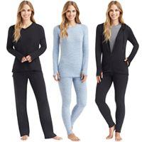 Women's Cuddl Duds Comfortwear Essentials
