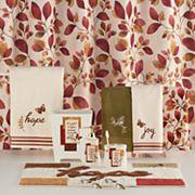 Saturday Knight, Ltd. Faithful Birds Leaves Shower Curtain Collection