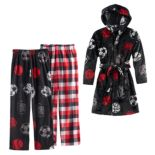 Boys Cuddl Duds Fleece Sports Loungewear