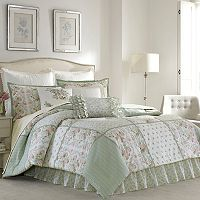 Laura Ashley Lifestyles Harper Comforter Collection
